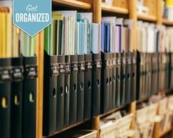 Get Organized  Scrapbook Storage Solutions