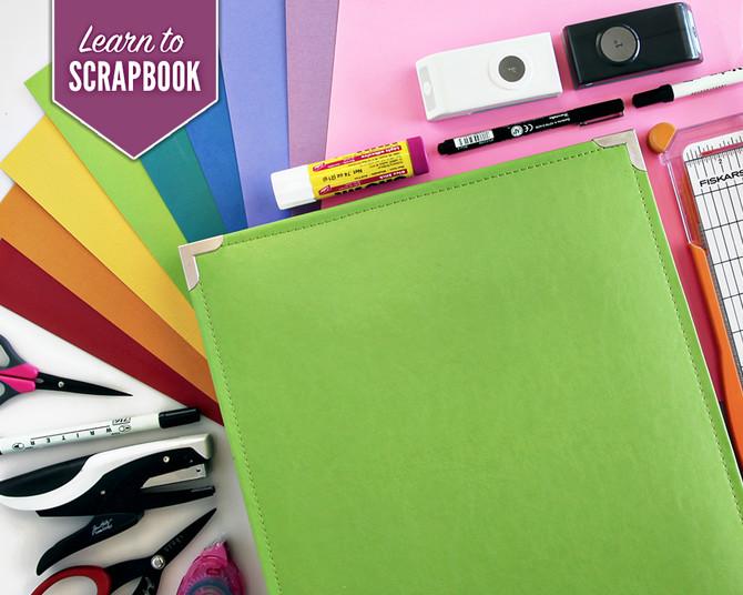 Class: Learn to Scrapbook  Free Beginner Class