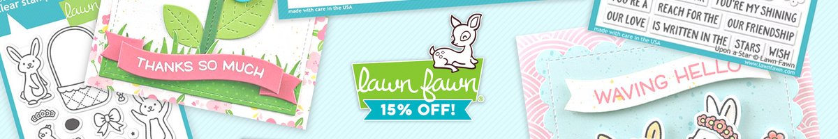 15% OFF All Lawn Fawn