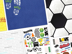 Sports Addict by Scrapbook Customs