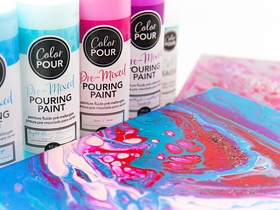 Color Pour by American Crafts
