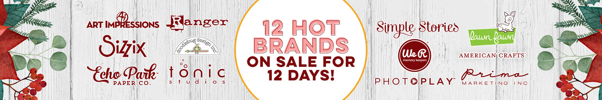 12 Days - 12 Hot Brands