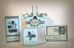 Floral Set  * Unity Stamp Company *  NEW