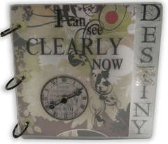 D Reeves Clear Acrylic Album
