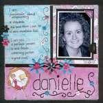 Danielle (Scrapbook Dimensions Calendar)