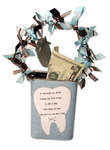 Tooth Fairy Decorated Tin by Sarah Memmott