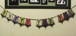 Batty For You Reversible Halloween Banner