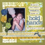 Hold Hands - A Layered Paper Layout with some Clustering