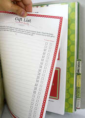 New Holiday Organizer - Gift List Page