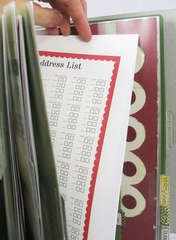 New Holiday Organizer - Inside List Page