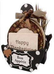 Paper Plate Holder Thanksgiving Theme Front