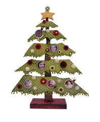 Altered Wooden Christmas Tree