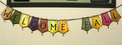 Welcome Fall Reversable Banner