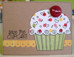 seize the cupcake (card)