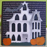Happy Halloween card - outside (pop-up)