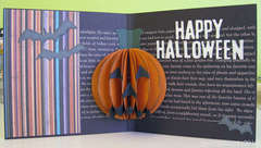 Happy Halloween card - inside (pop-up)