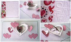 I love you card (Sizzix pop-up)