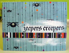 jeepers creepers Halloween card (pop-up)
