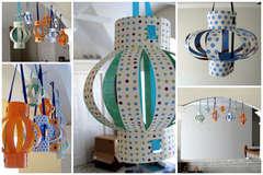 Lanterns (Sizzix Bigz XL Die – Lanterns, 3-D)