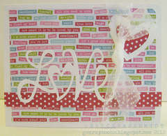love card featuring Pop `n Cuts (front)