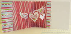 love card featuring Pop `n Cuts (inside)