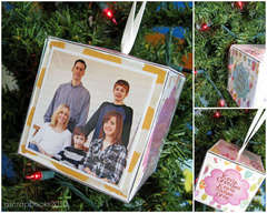 Christmas Ornament (for the Sizzix Blog Hop)