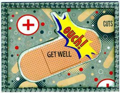 Ouch Get Well card