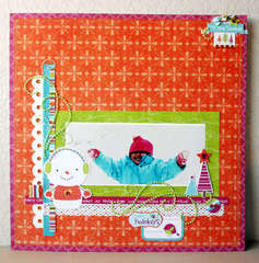 *Zva Creative* Snowman layout