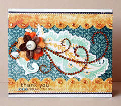 *Zva Creative* Thank You card