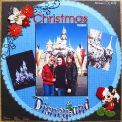 Christmastime in Disneyland