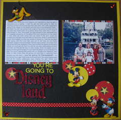 You're going to Disneyland