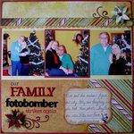 Family Fotobomber
