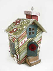 Christmas Themed Doodlebug Mini House