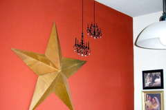House of 3 Wall Decal - Double Chandelier