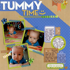 Tummy Time :)