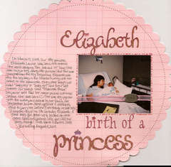 Elizabeth Birth of a Princess