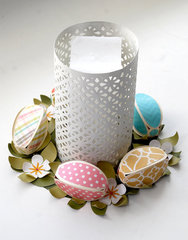 3d Easter Egg Wreath