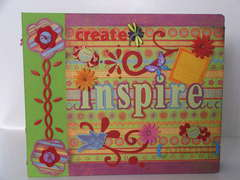 ~*~ Inspiration D-Ring Binder ~*~