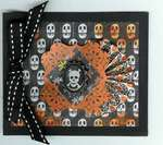 DCWV skeleton mini album