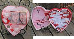Valentine Candy Box Heart