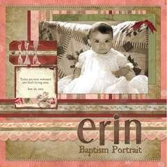 Baptism Portrait