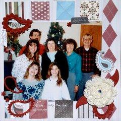 1990 family photo