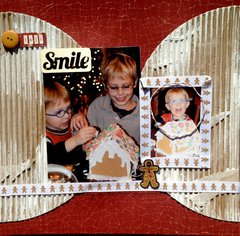 Smile- Gingerbread making