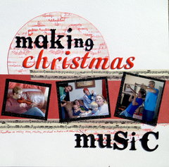 Making Christmas Music