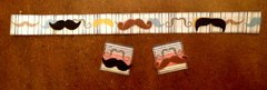 Mustache border and inchies