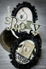Spooky Desk Frames