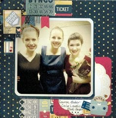Winter Choir 2013 *Bo Bunny Modern Miss*
