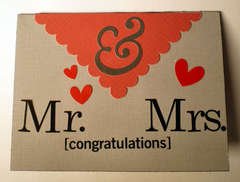 congratulations Mr. & Mrs.