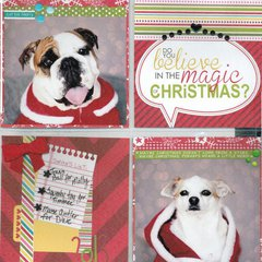 Believe in the Magic of Christmas Pg 1 **Bella Blvd Christmas Countdown