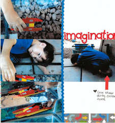 Imagination on the Go